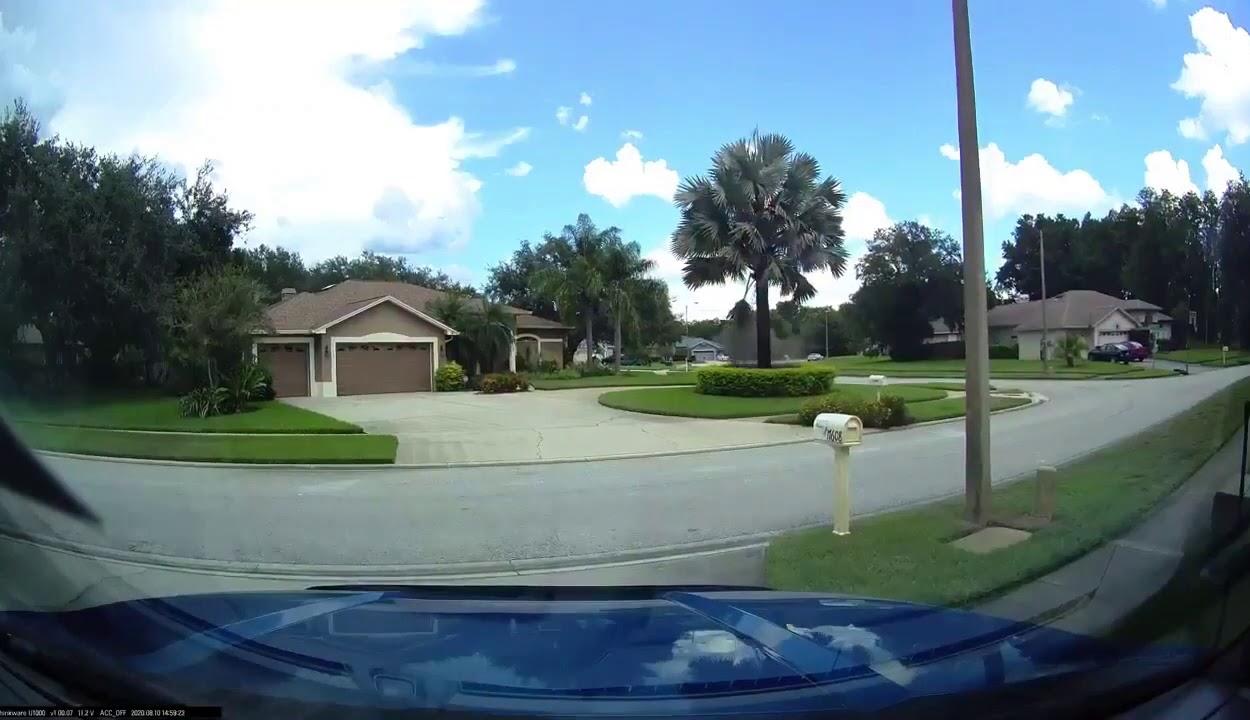 Szó szerint derült égből jött a villámcsapás Floridában