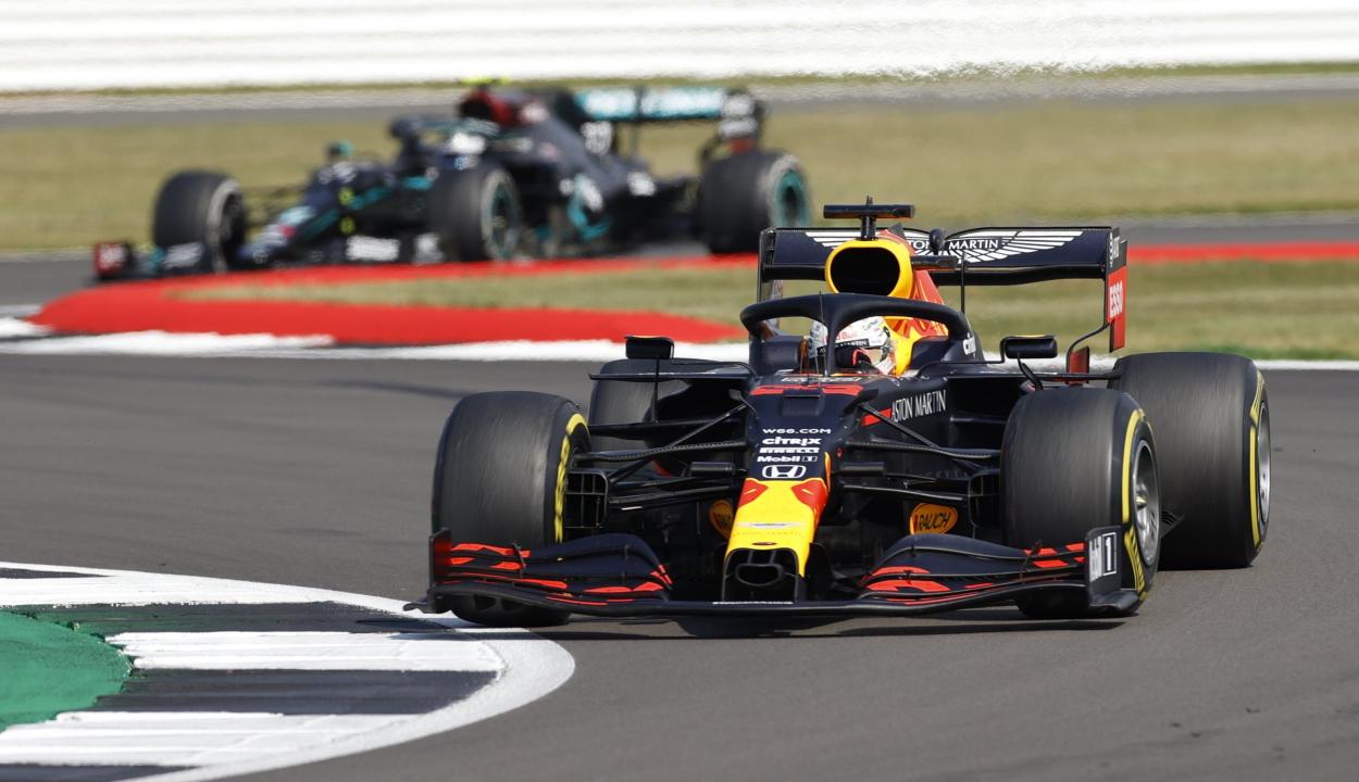 Forma-1: Verstappen nyert a 70. évforduló Nagydíját