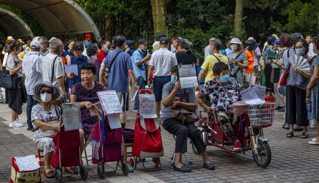 Házassági piacon vadásznak párt Kínában