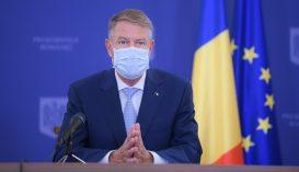 Iohannis: úgy lehet megszabadulni a járványtól, ha maszkot viselünk és betartjuk a fizikai távolságot