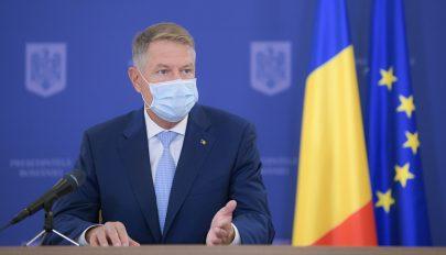 Iohannis: alapjaiban kell újragondolni a romániai egészségügyi rendszert