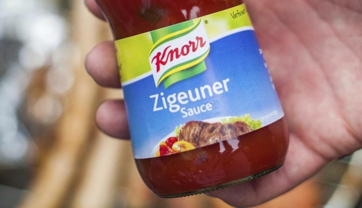 Átnevezi egyik legnépszerűbb termékét, a cigányszószt a Knorr