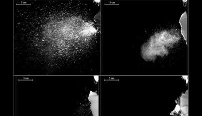 Videó mutatja be, hogyan fékezi meg a koronavírust a maszkviselés