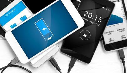 Hamarosan 15 perc alatt feltölthetők lesznek a mobilok