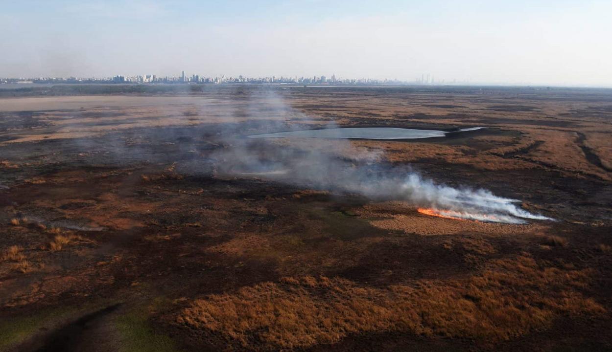 Példátlan tűzvészsorozat pusztít Kis-Amazóniában
