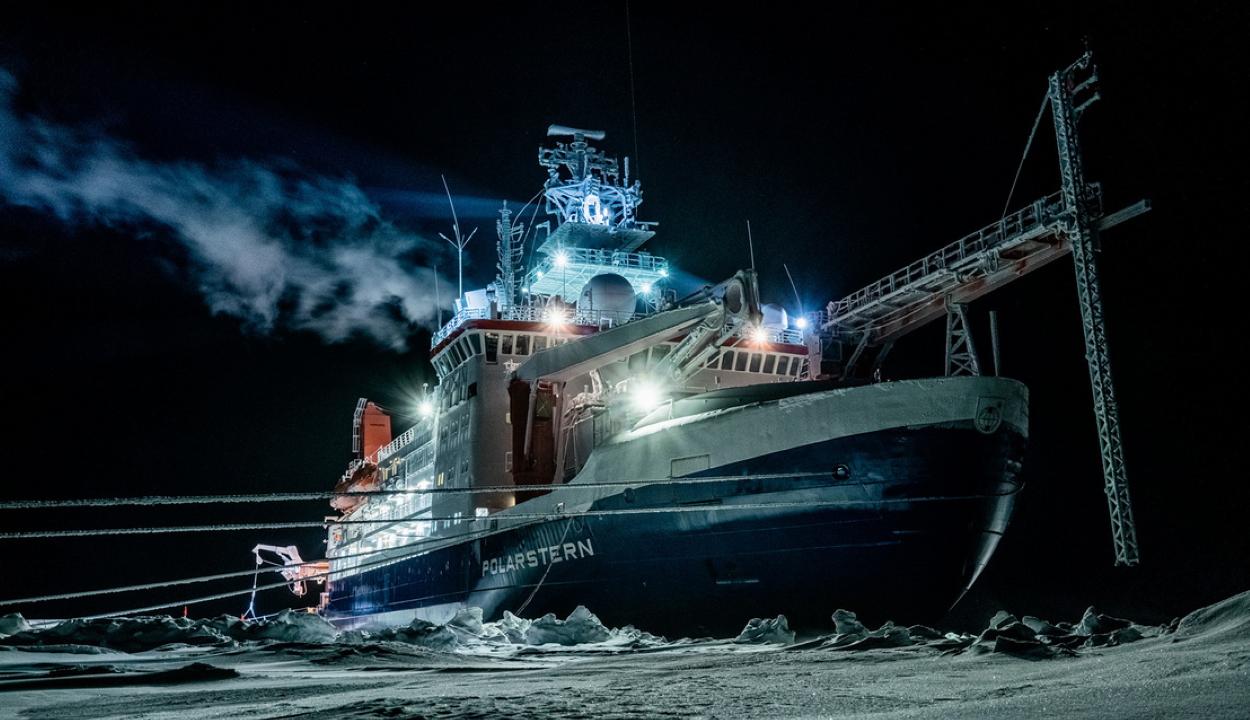 Széttört a jégtábla, amin a világ legjelentősebb sarkkutató tábora állt