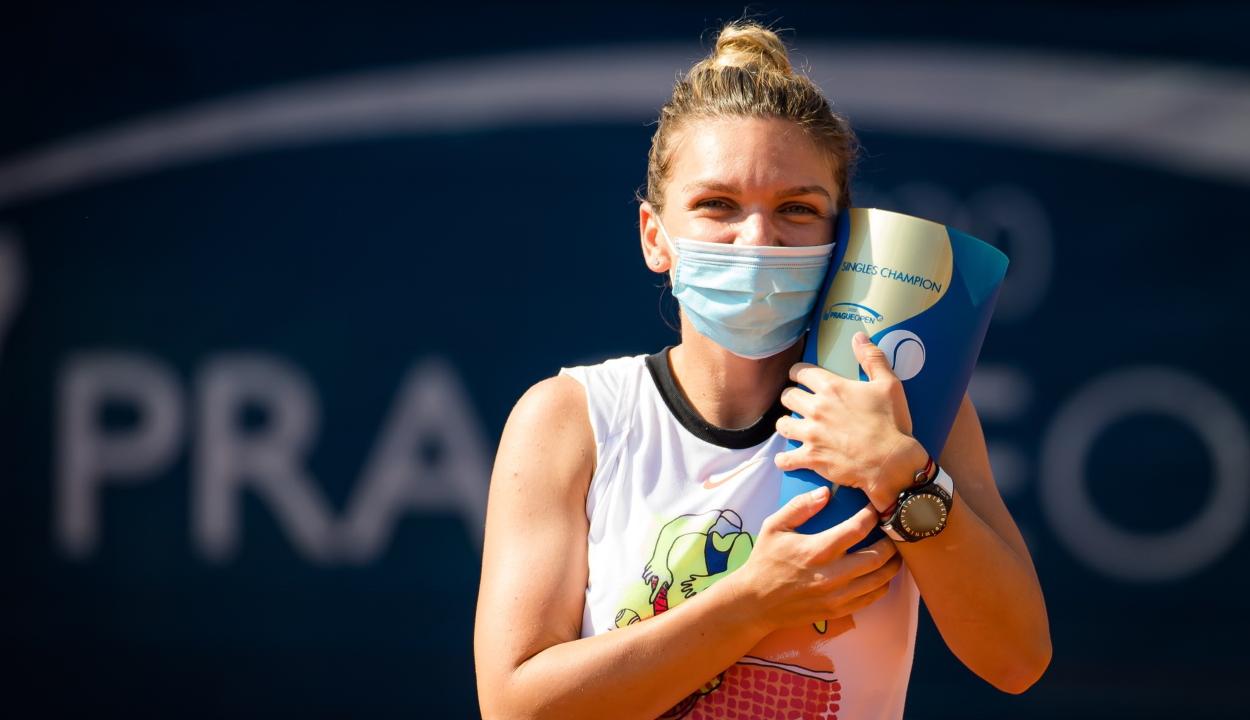 Simona Halep megnyerte a prágai tenisztornát