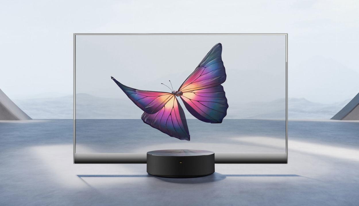 Teljesen átlátszó tévét mutatott be a Xiaomi
