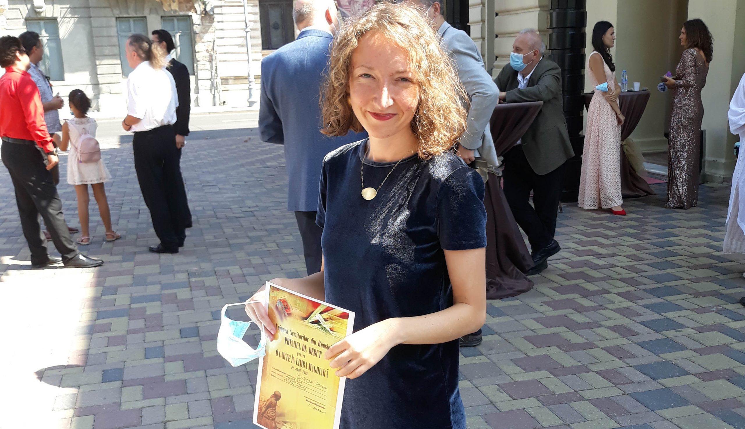 Debüt díj Borcsa Imolának