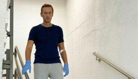 Kiengedték a kórházból mérgezése után Navalnijt