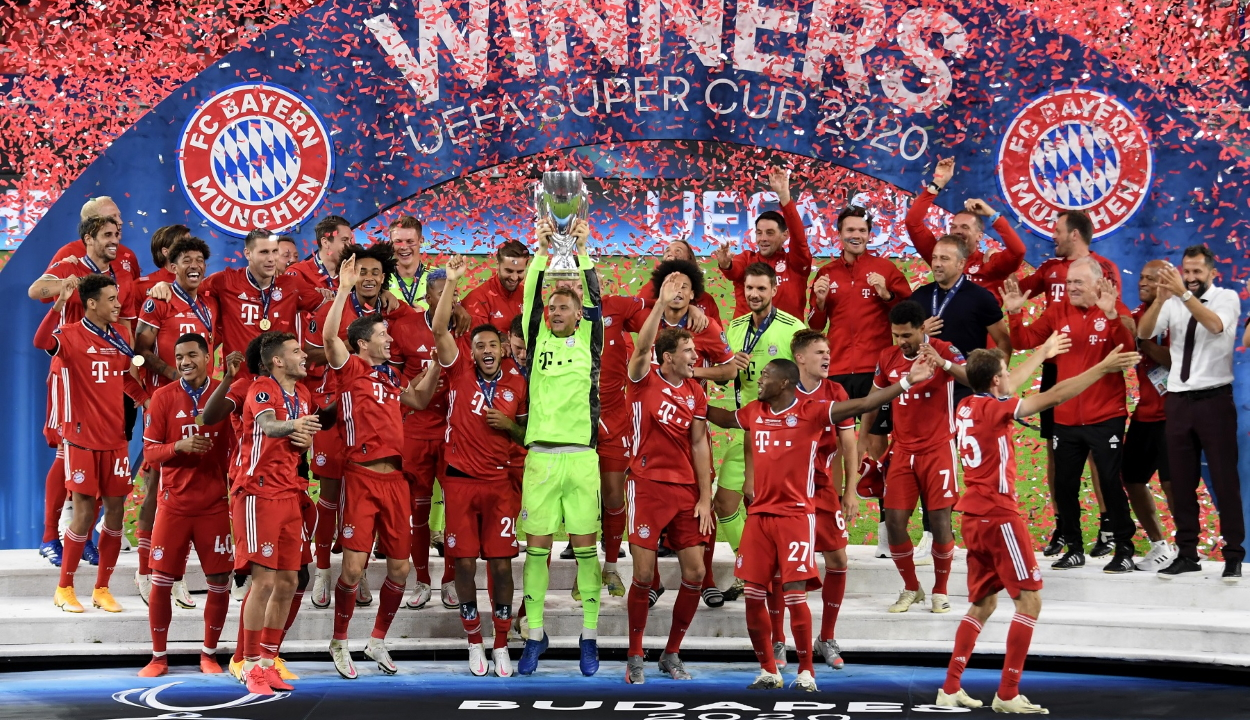 Európai Szuperkupa: A Bayern nyerte Budapesten a trófeát