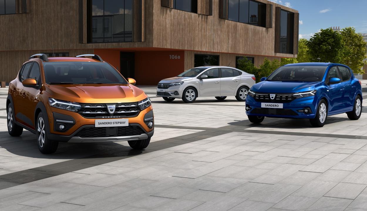 Bemutatta az új Logan és Sandero modelleket a Dacia