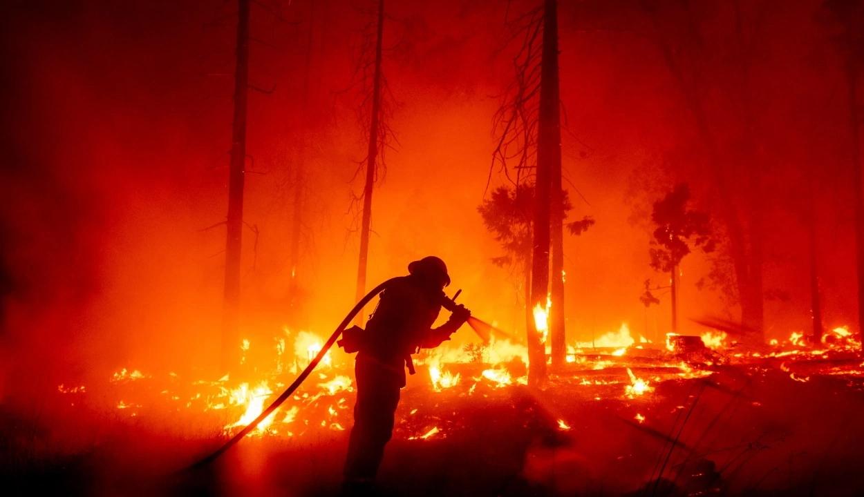 Európát is elérte az Amerika nyugati partvidékén pusztító erdőtüzek füstje