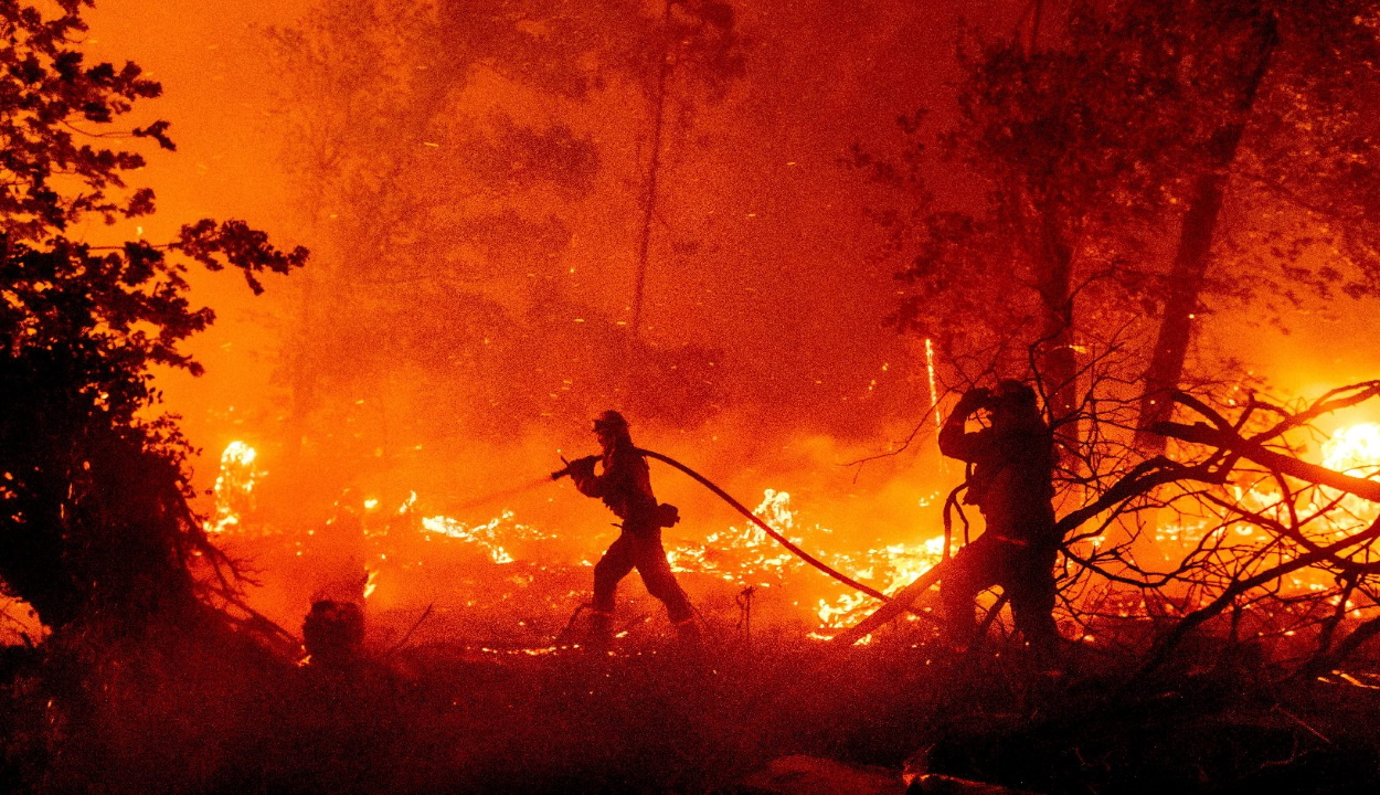 Sokan eltűntek az erdőtüzektől sújtott Oregonban