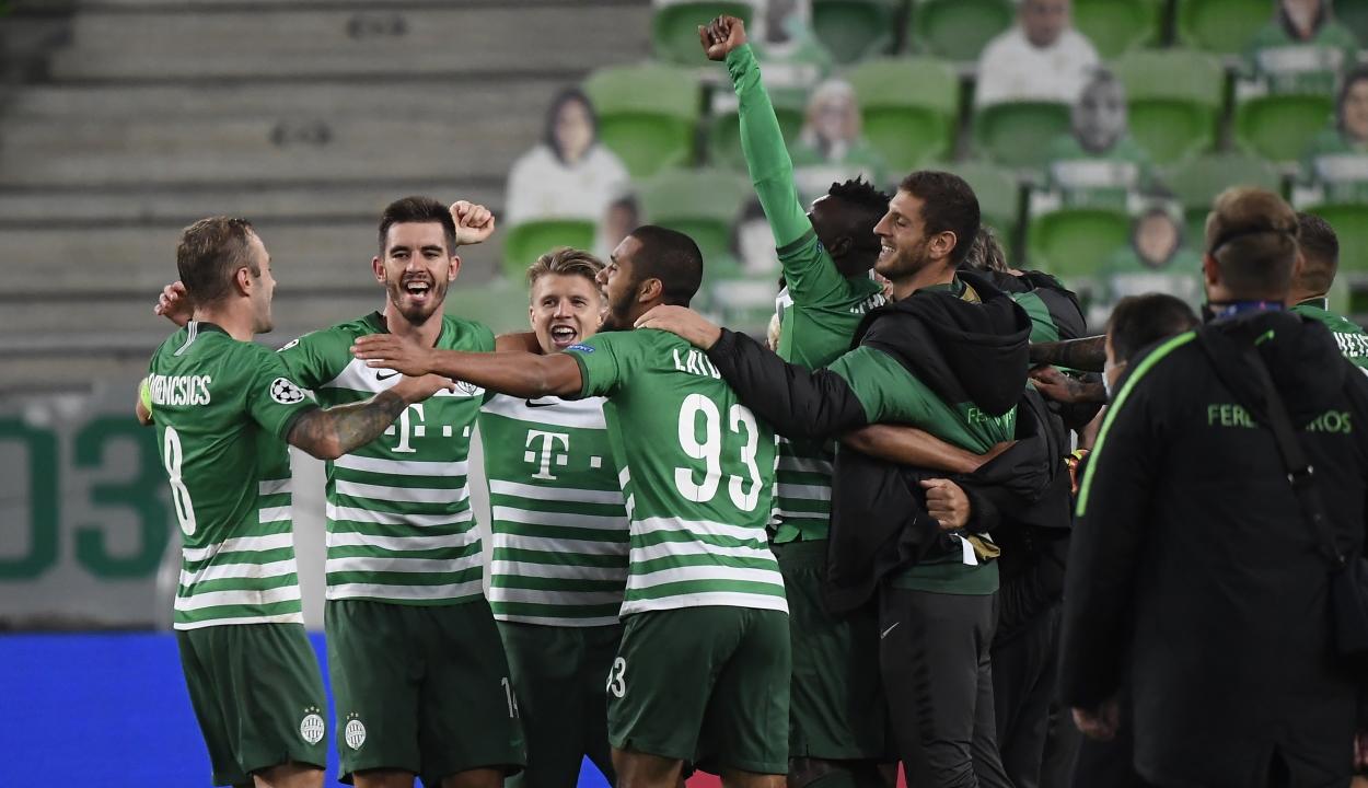 Huszonöt év után jutott be a Bajnokok Ligája csoportkörébe a Ferencváros