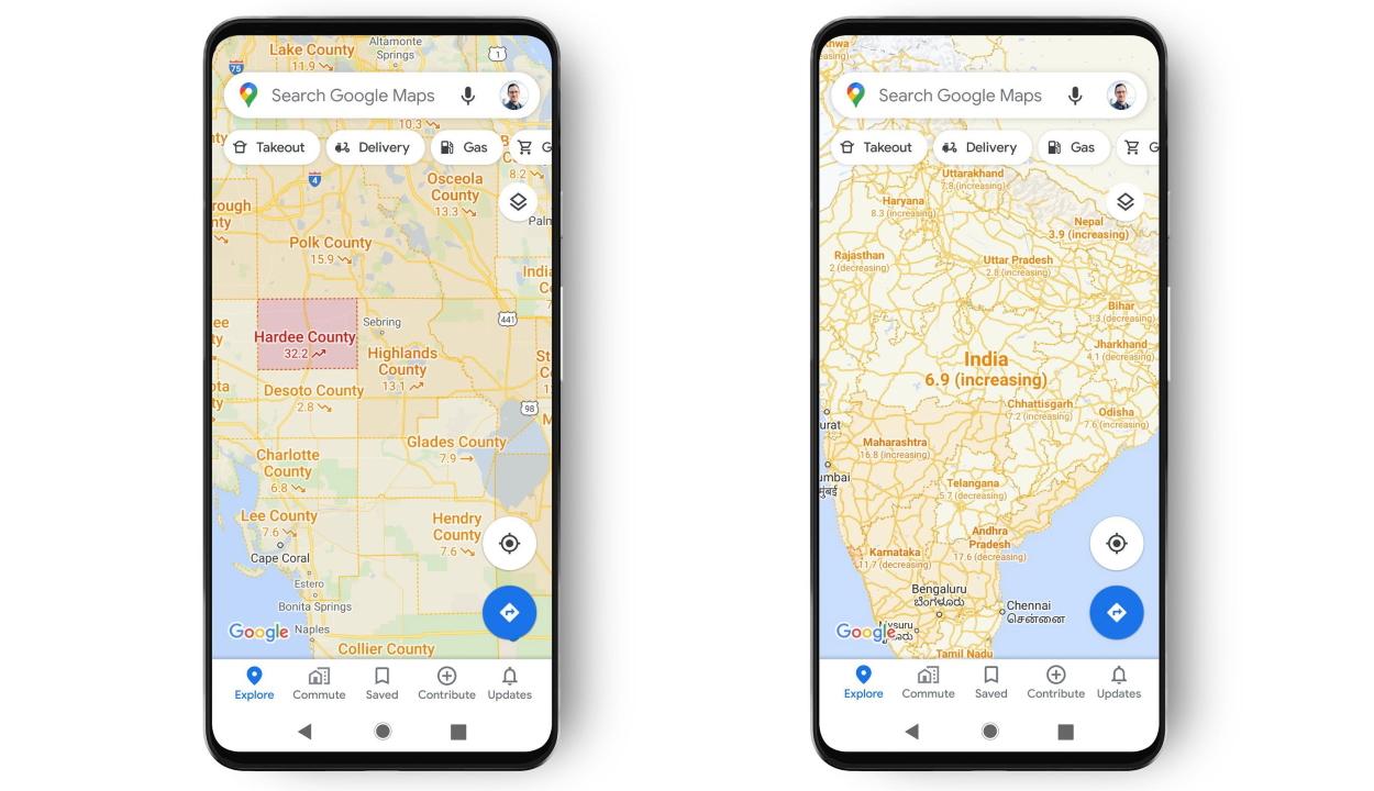 Új koronavírusos funkciót kap a Google Térkép