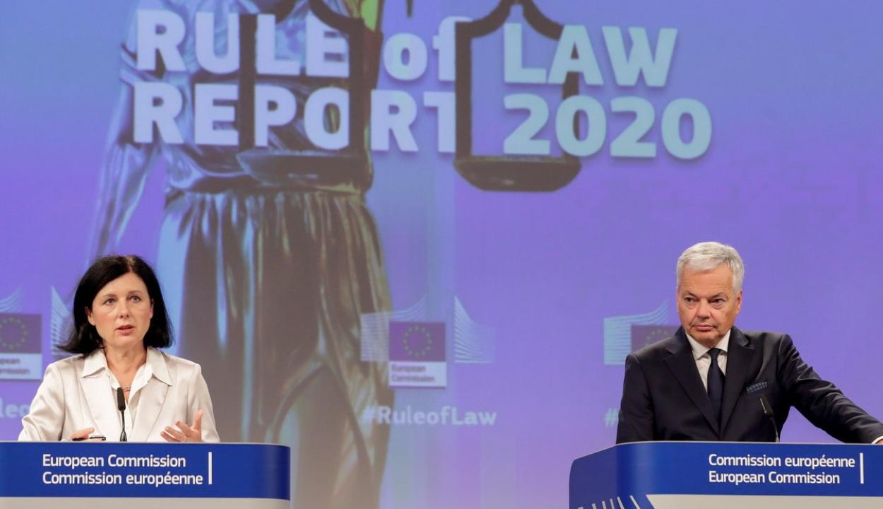 Jogállamisági jelentés: néhány igazságügyi törvénymódosítás továbbra is aggodalomra ad okot