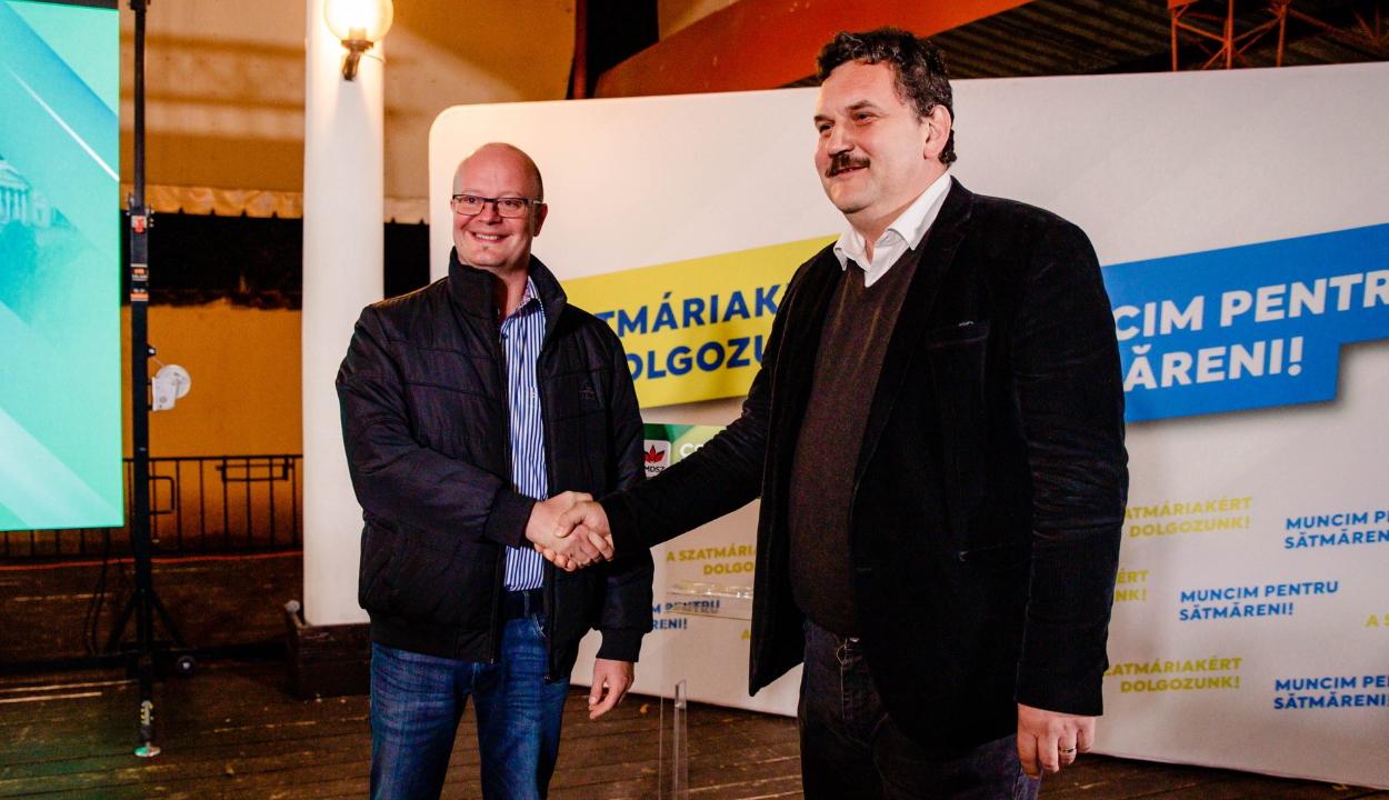 Kereskényi Gábor marad a polgármester Szatmárnémetiben, Pataki Csaba tovább vezeti Szatmár megyét