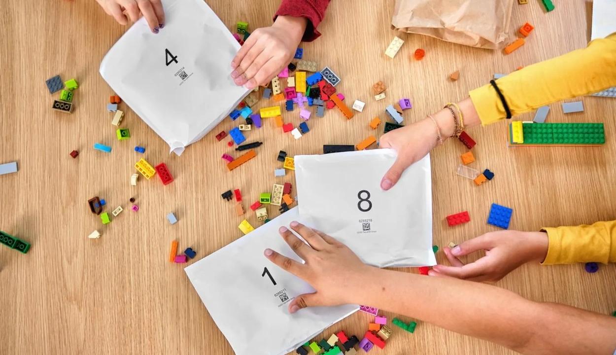Száműzi az egyszer használatos műanyagot a LEGO
