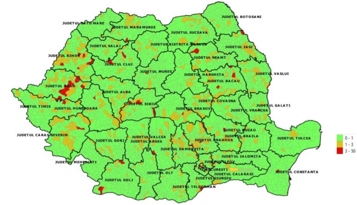 Iskolakezdés: közzétették a településenkénti fertőzésszámokat
