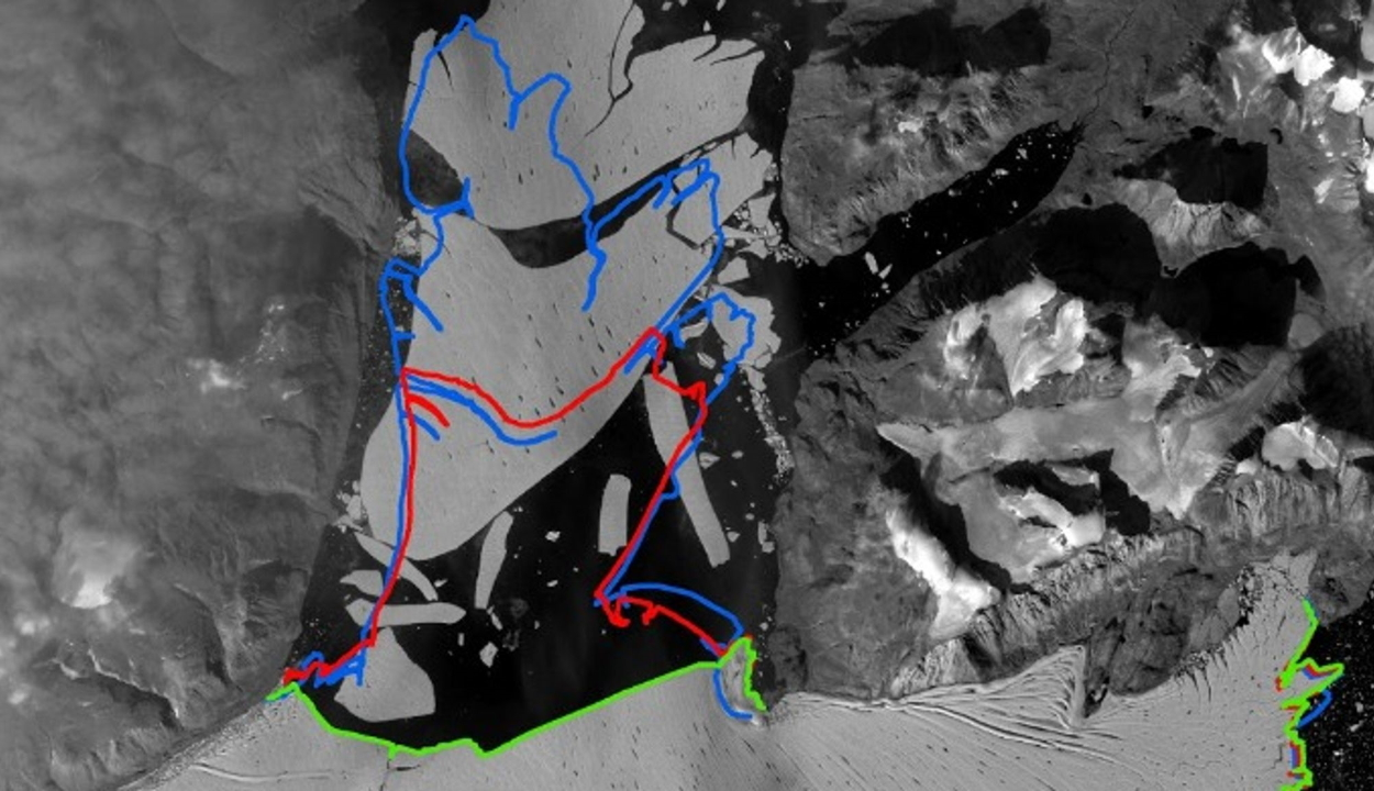 Letört egy hatalmas darab az Északi-sark legnagyobb selfjegéből