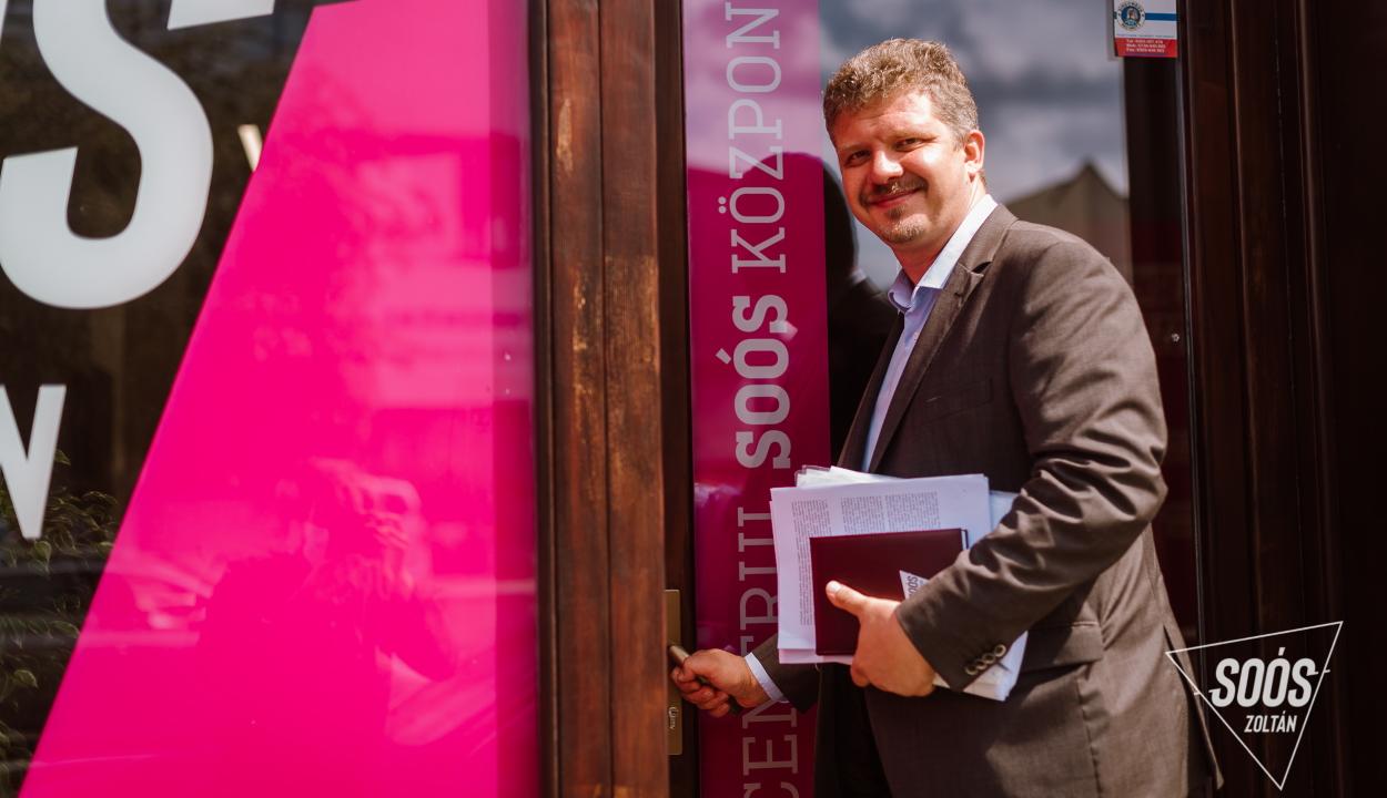 Soós Zoltán a marosvásárhelyi polgármesteri hivatal átvilágításával kezdi mandátumát