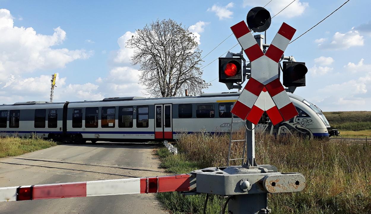 68 személyt bírságoltak meg a nem megengedett helyeken való vasúti átkelésért