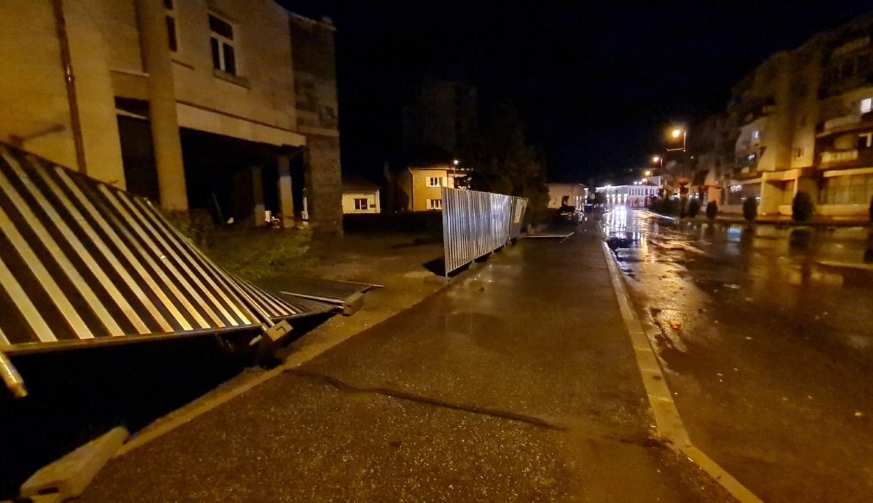 Károkat okozott a vihar Sepsiszentgyörgyön