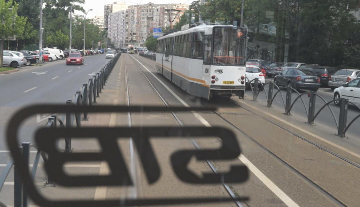 Gumitölténnyel lőtt egy férfi Bukarestben egy villamosvezetőre