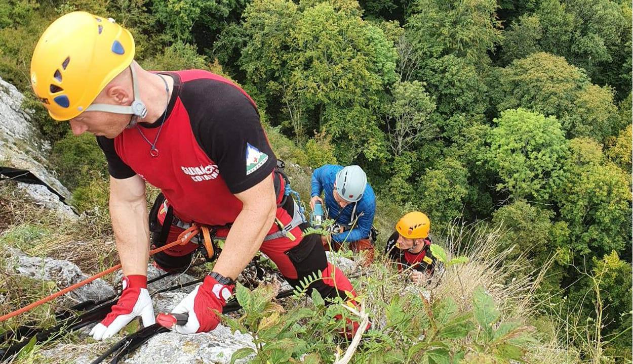 Alpinisták öröme