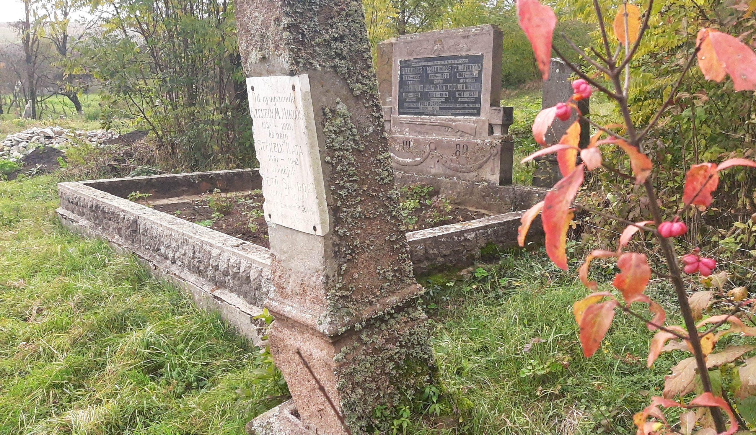 Séta egy régi temetőben