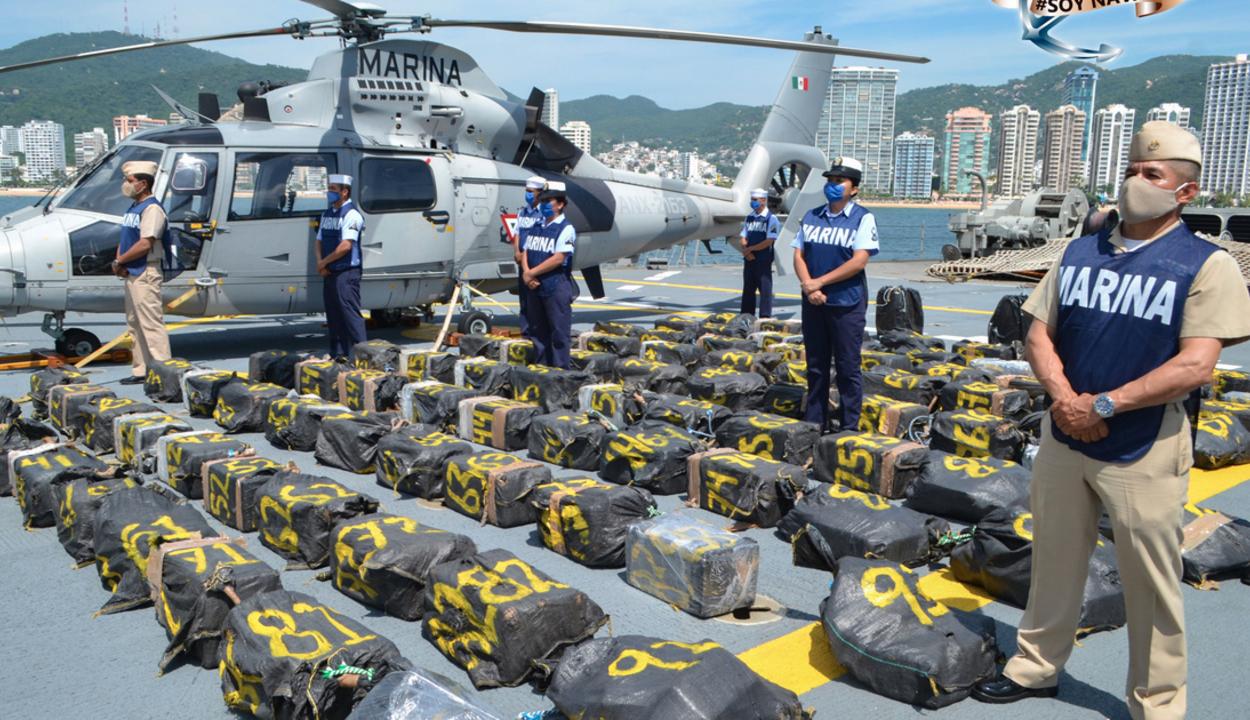 Két tonna kokain úszott a Csendes-óceánon