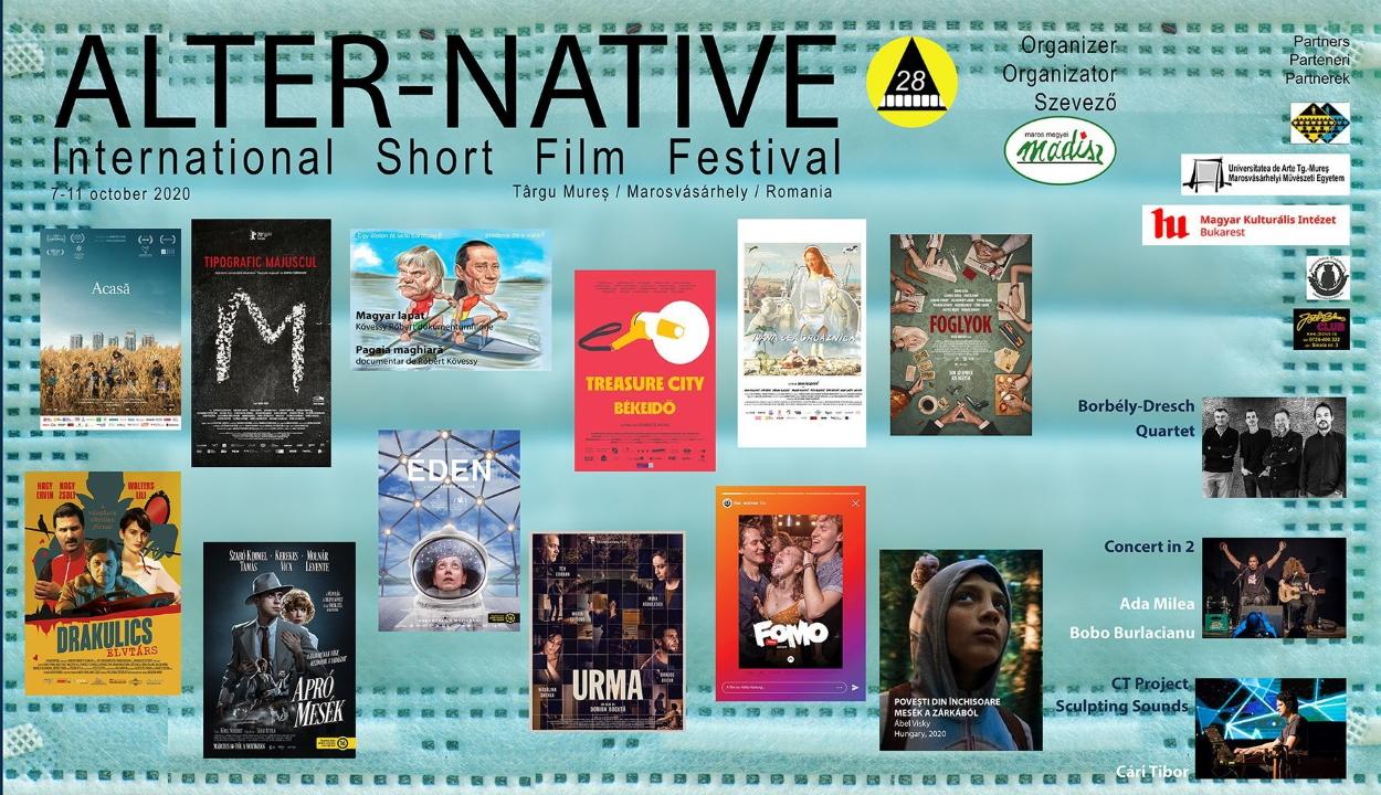 Román és magyar játékfilmeket is vetítenek a 28. Alter-Native Nemzetközi Rövidfilmfesztiválon