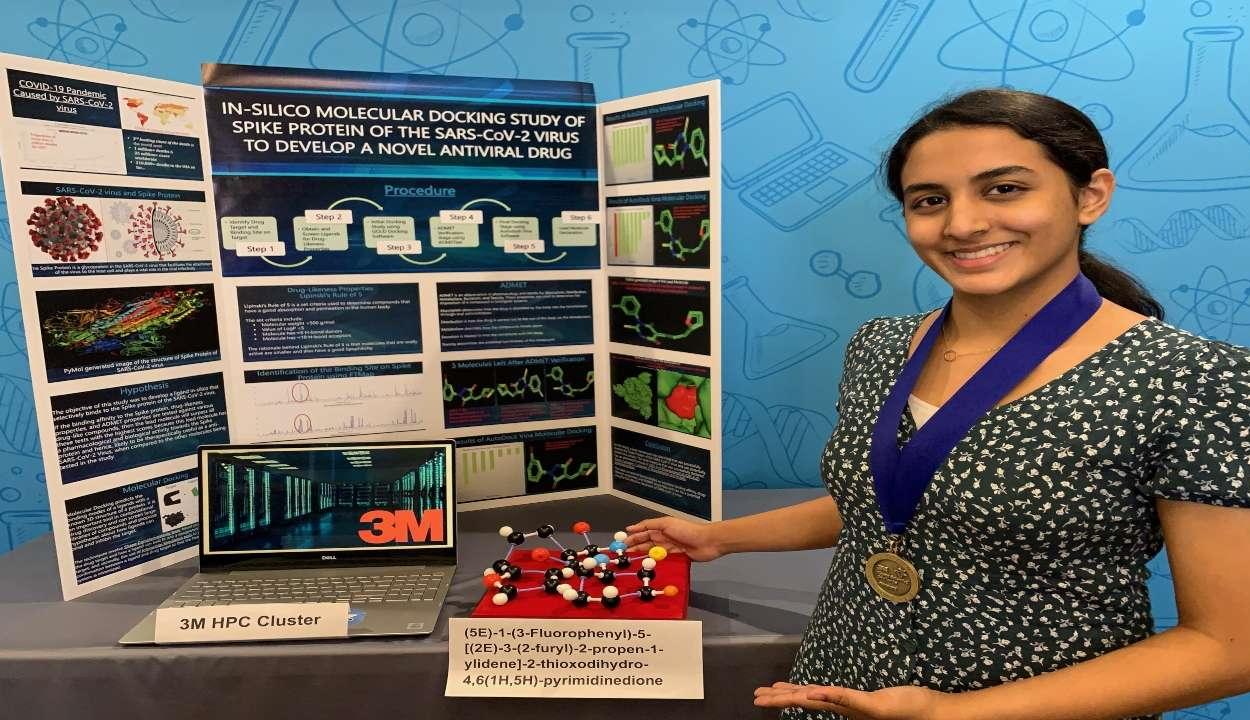Egy 14 éves lány találmánya járulhat hozzá a koronavírus legyőzéséhez