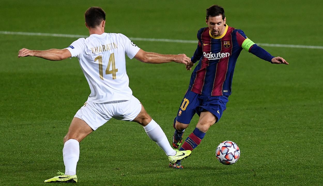 Bajnokok Ligája: négy góllal kapott ki Barcelonában a Ferencváros