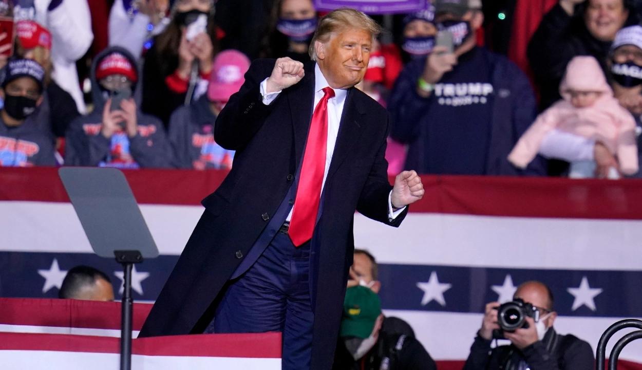 Rekordokat dönt Trump arizonai táncának nézettsége a médiában