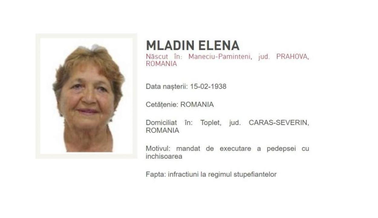 Egy 82 éves nő a legidősebb körözött személy Romániában
