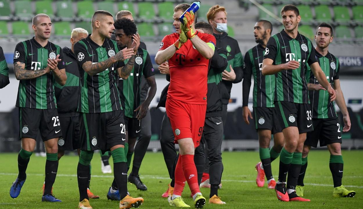 Bajnokok Ligája: pontot szerzett a Ferencváros a Dinamo Kijev ellen
