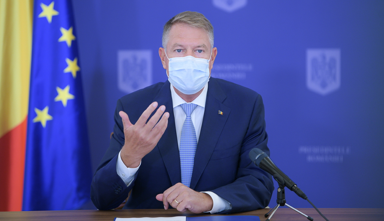 Iohannis: rendkívül aggasztó az új megbetegedések magas száma