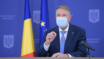 Iohannis: Romániát teljesen felkészületlenül érte az egészségügyi válság, a fő bűnös a PSD