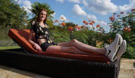 Egy amerikai lánynak vannak a leghosszabb lábai a világon