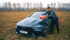 Elégedetlen volt a gyártó hozzáállásával, felgyújtotta 150 ezer eurós Mercedesét
