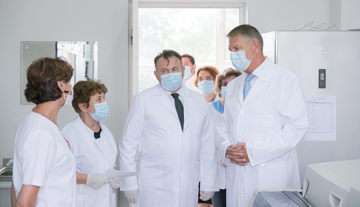Tătaru: országszerte 209 személy van lélegeztetőgépen