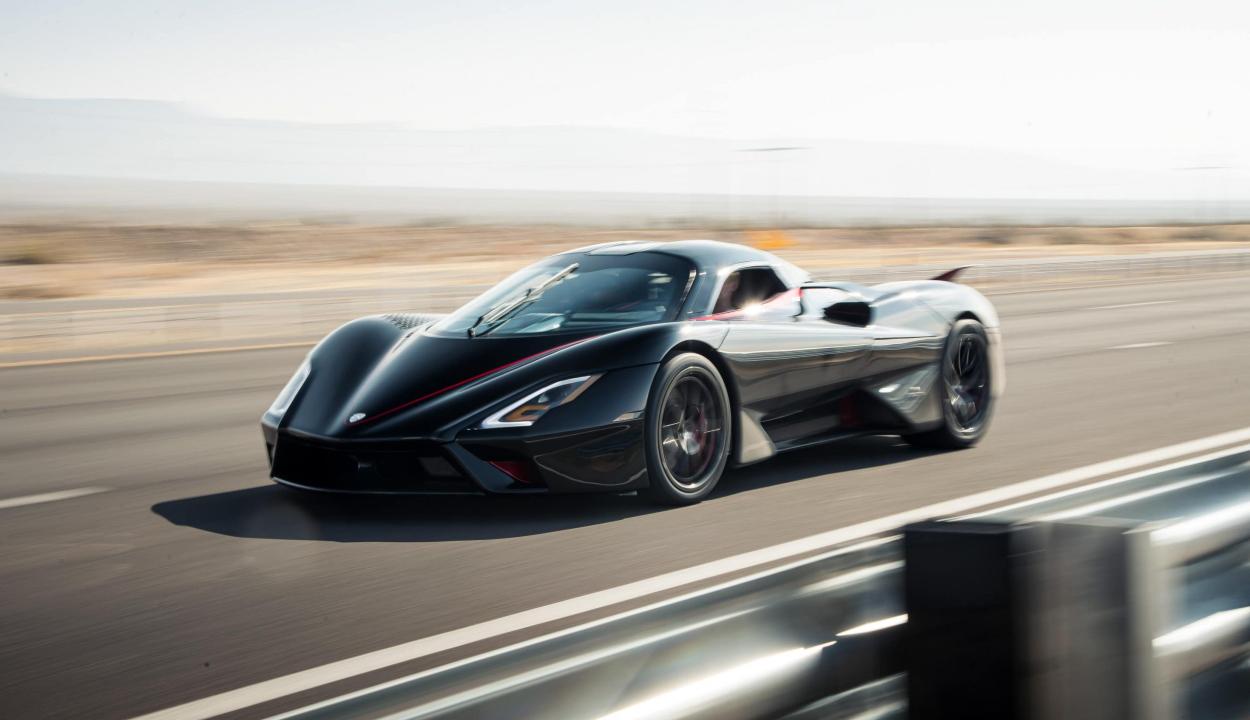 509 km/órával száguldott a világ leggyorsabb autója