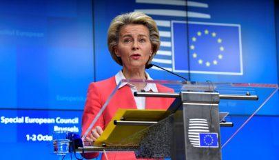 Karanténba vonult az Európai Bizottság elnöke