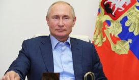 Putyin megkapta a védőoltás második komponensét