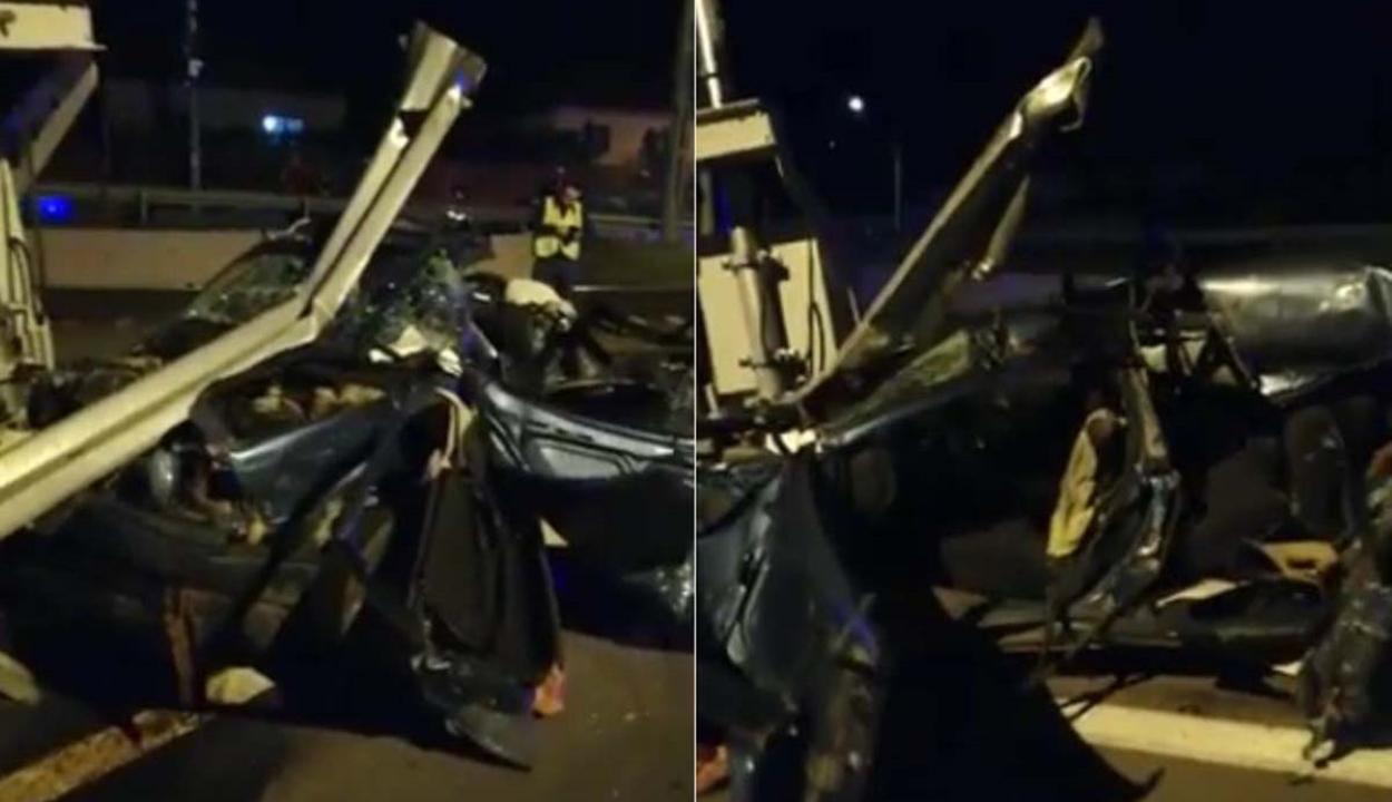 Síneken rekedt autót ütött el a Bukarest-Bécs gyors