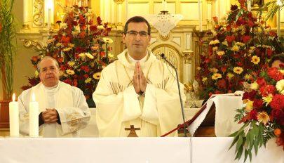 Püspöki szentmise Gelencén