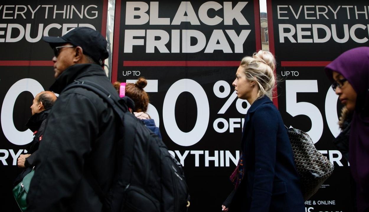 Az Amazon visszavonta Franciaországban a Black Friday-t népszerűsítő reklámjait