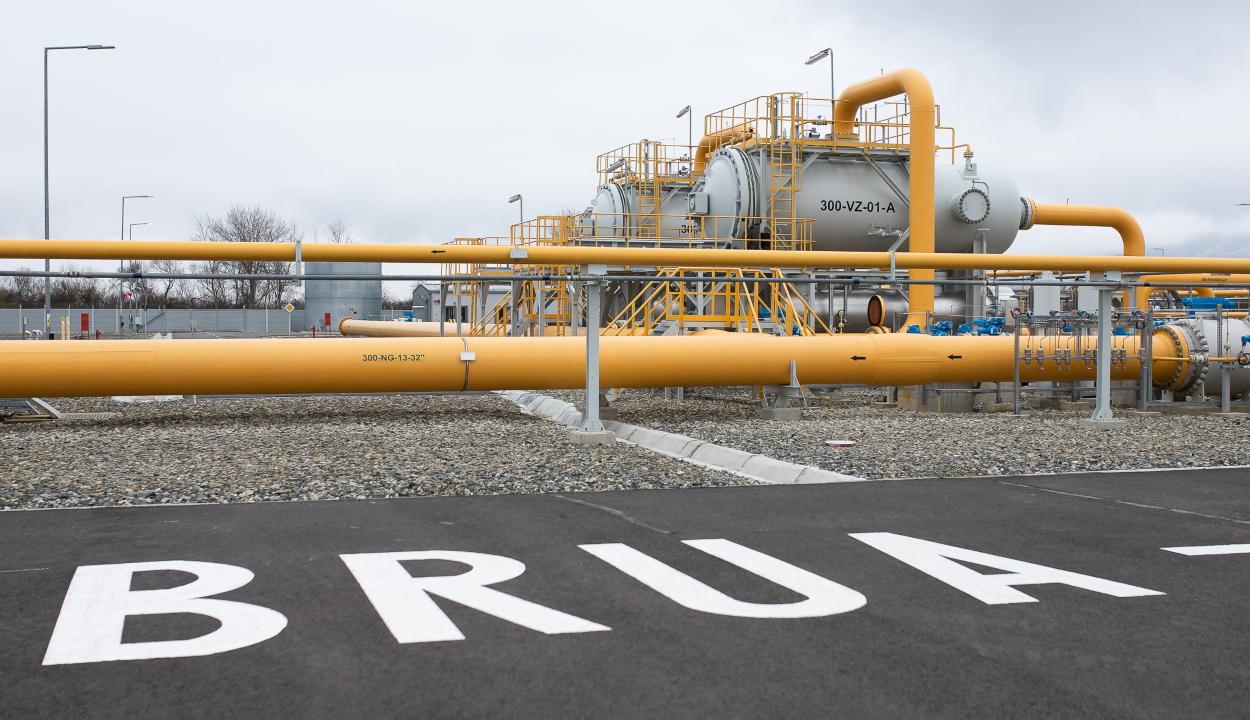 Befejeződött a BRUA gázvezeték építésének első szakasza Romániában